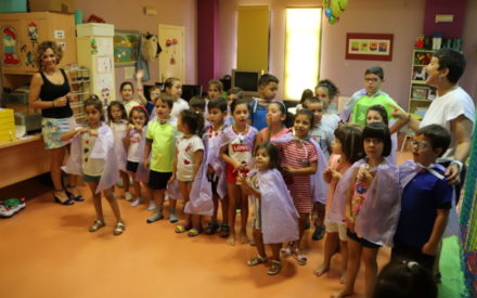 Los niños y niñas de las ludotecas de Manzanares se forman en igualdad a través de juegos