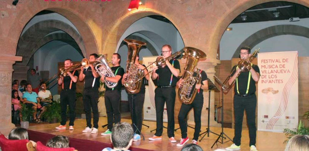 And the Brass llegan al Festival de Música Clásica con un espectáculo didáctico y divertido