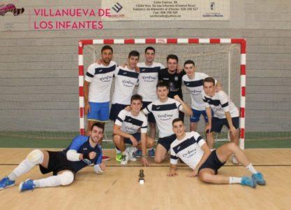 Verfrut-Floristería El Valle se alza vencedor del XXIX Maratón Nacional de Fútbol-Sala de Villanueva de los Infantes