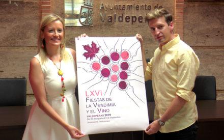 Presentación del cartel anunciador de las LXVI Fiestas del Vino