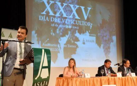Celebración de la 35 edición del 'Día del Viticultor' de Asaja en Tomelloso