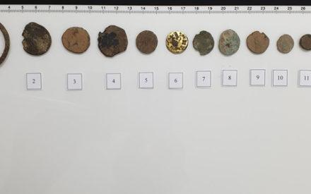 Recuperadas 13 piezas metálicas obtenidas en el expolio del yacimiento de Jamila