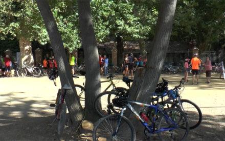 Marcha cicloturista al Peral y las Aguas