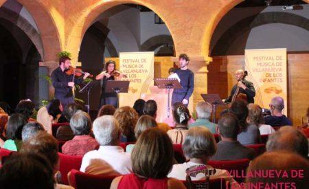 La XII edición del Festival Internacional de Música Clásica de Villanueva de los Infantes arranca con Exordium Musicae
