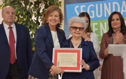 Homenaje a los mayores en Manzanares