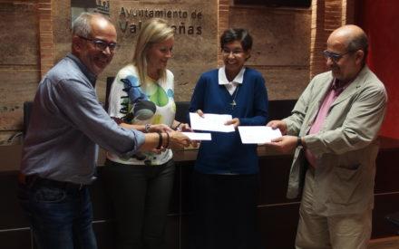 El hogar de Nazaret recibe 2.035 euros gracias al festival 'Las Notas del Vino'