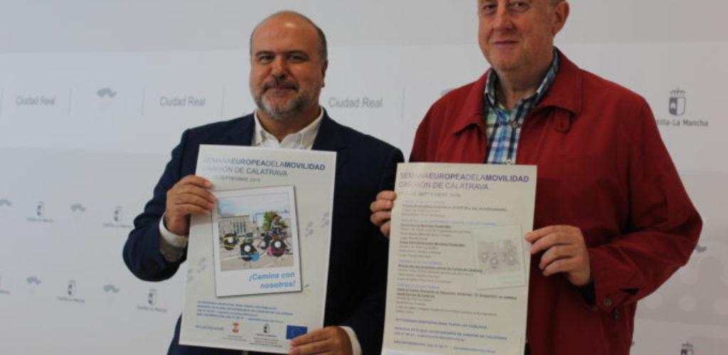 Presentación de las actividades de la Semana Europea de la Movilidad 2019 en Carrión de Calatrava