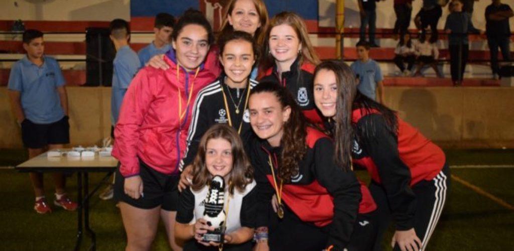 El XI Torneo Nacional de Fútbol 8 Base celebrado en Villanueva de los Infantes moviliza a 450 jóvenes deportistas