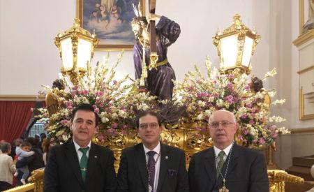 La Cofradía de Jesús Caído, en la función solemne en honor a Nuestro Padre Jesús del Perdón de Manzanares