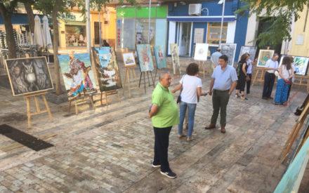 Pintores D'Arte celebra la XXIV Exposición de pintura al aire libre
