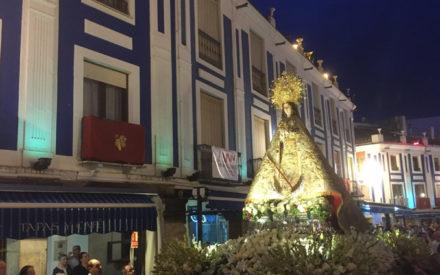 La procesión de la Ntra. Patrona la Virgen de Consolación cierra las LXVI Fiestas de la Vendimia y el Vino