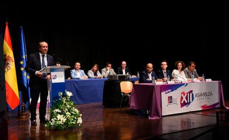Clausura de la XII Asamblea General de la Federación de Municipios y Provincias de Castilla-La Mancha, FEMP-CLM.