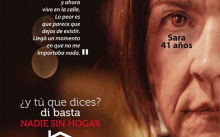 Cáritas Interparroquial de Valdepeñas saldrá a la calle el próximo viernes 25 de octubre, con motivo del Día de las Personas Sin Hogar