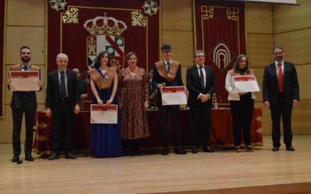 Patricia Franco asiste al acto de graduación de los alumnos de la Escuela Superior de Informática de la UCLM en Ciudad Real