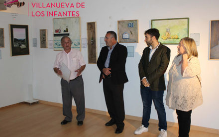 El pintor Julián Luís Medina expone sus obras en el Museo de Arte Contemporáneo 'El Mercado'