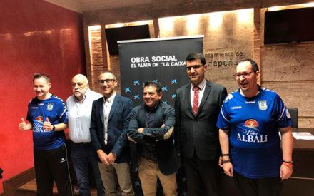 Viña Albali Valdepeñas presenta su proyecto deportivo inclusivo 'Fútbol Sala para todos'