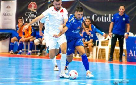 Aceites Moral Oro FS – Viña Albali Valdepeñas (3ª):  4-2| Moral se llevó la victoria en un partido desafortunado de los azulones
