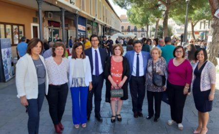 Pilar Callado ha participado en la celebración del Día Nacional del Ama de Casa en Daimiel