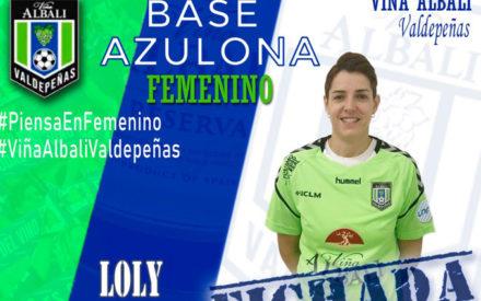 Loly Arroyo, refuerzo para la portería azulona