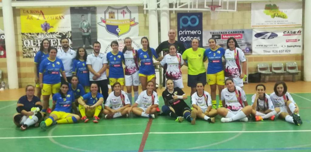 El Quijote Futsal crea su cantera de fútbol sala femenino con dos equipos de chicas entre los 8 y los 14 años de edad de Valdepeñas y comarca