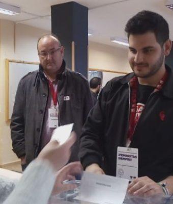 """IU Valdepeñas, Alberto Parrilla """"Tenemos que votar para impedir que se unan las tres derechas"""""""
