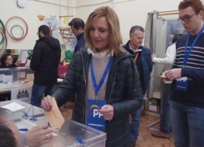 """PP Valdepeñas, Cándida Tercero """"Los españoles son sabios para elegir la mejor opción de gobierno"""""""