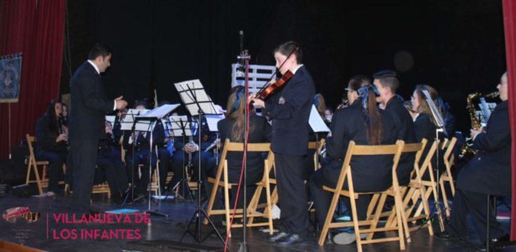 La Agrupación Musical Santa Cecilia celebró el concierto homenaje a su patrona en Villanueva de los Infantes