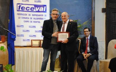 """Jesús Martín anima a Feceval a """"seguir trabajando por la unión del sector empresarial"""""""