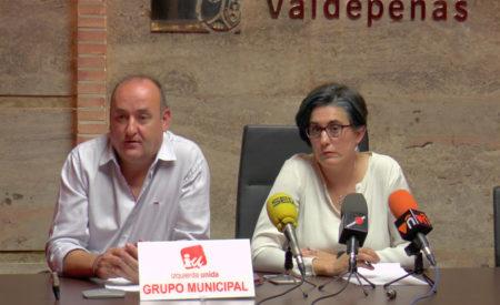 Izquierda Unida pone a disposición de los vecinos de Valdepeñas el presupuesto municipal para 2020