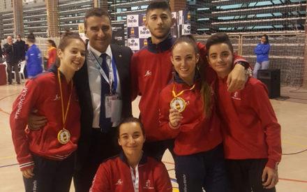 Resultados del club Okinawa en el campeonato de España cadete, Junior y ub-21 celebrado en Talavera de la Reina