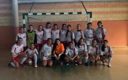 Las Pequedulcineas se desplazaron hasta Malagón para disfrutar de una jornada amistosa de fútbol sala femenino