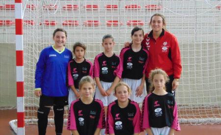 Debut con victoria para las cadetes del Quijote Futsal