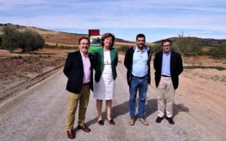 El Gobierno de Castilla-La Mancha realiza trabajos de mejora en tres caminos rurales en Aldea del Rey