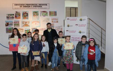Entregados los premios del Concurso Provincial Infantil del Museo de Arte Contemporáneo El Mercado