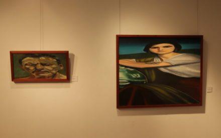 Las leodegrafías de Leodegario sorprenden al público en la Casa de Malpica  en Manzanares