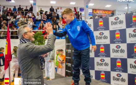 Éxito de participación y público en la gran final de la Liga Nacional de Karate en Valdepeñas