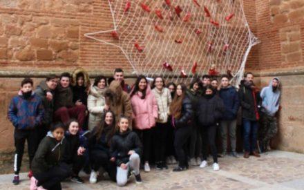 Exposición de Zapatos Rojos contra la violencia de género también en Navidad en Villanueva de los Infantes
