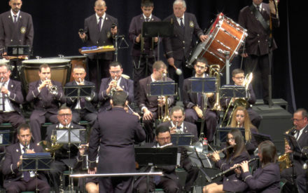 """La Agrupación Musical """"Maestro Ibáñez"""" ofreció su tradicional concierto de Santa Cecilia"""