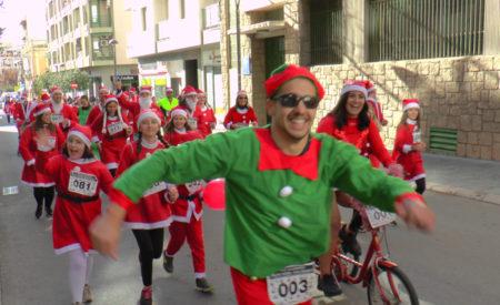 Celebrada la VIII Carrera Papá Noel Solidario