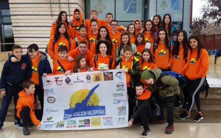 El C.N. Valdepeñas en la 2º jornada de deporte base y en el torneo de navidad del C.N. Ciudad Real
