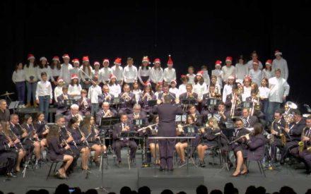 La Agrupación Musical «Maestro Ibáñez» celebró su concierto de navidad