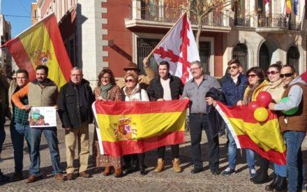 La Plataforma España Existe se manifiesta en Valdepeñas