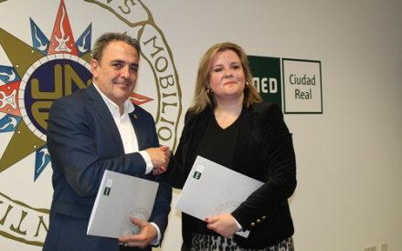 Convenio de colaboración suscrito entre UNED y AFIM