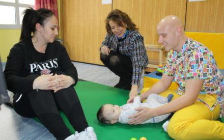La consejera de Bienestar Social, Aurelia Sánchez visita el Centro de Atención Temprana de ASPACECIRE en Ciudad Real