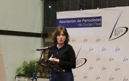 Blanca Fernández asiste  a la II Gala de la Comunicación de Asociación de Periodistas de Ciudad Real