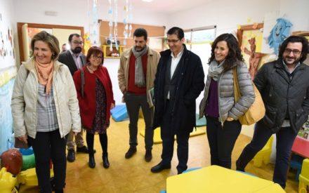 La Diputación invertirá este año en Calzada medio millón de euros en la guardería infantil y en la travesía de la carretera de «El Pardillo»