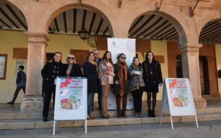Esther Lozano gana la cesta de regalos de Villanueva de los Infantes, valorada en más de 1200 €