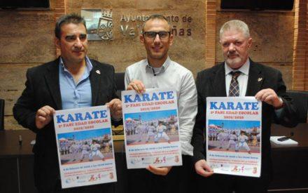 Más de 500 karatecas se darán cita en Valdepeñas en la 2º Fase Regional de Edad Escolar