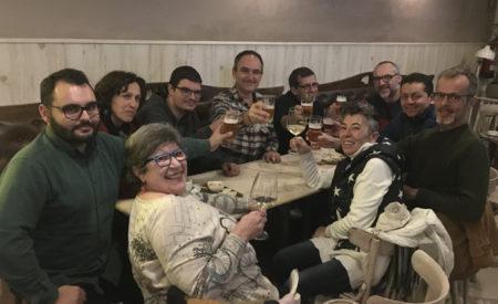 Podemos Valdepeñas celebra el nuevo Gobierno de coalición
