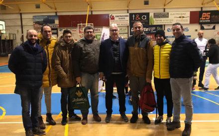 Monitores de la escuela de baloncesto en el XXV Clinic Raimundo Saporta